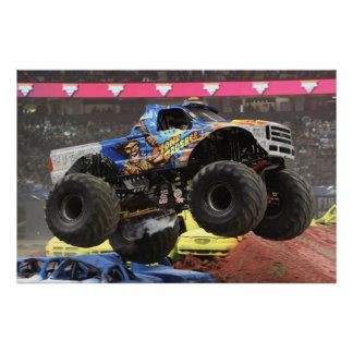 Stone Crusher Monster Truck Print