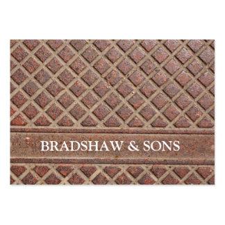 Stone Diamond Construction Business Cards