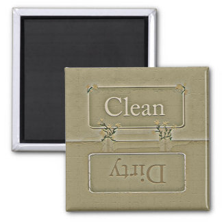 Stone Dirty Clean Dishwasher Magnet