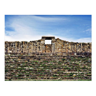Stone Doorway Of Palace, 100 BC Monte Alban Postcard