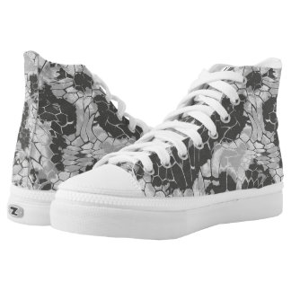 stone dragon camouflage high tops