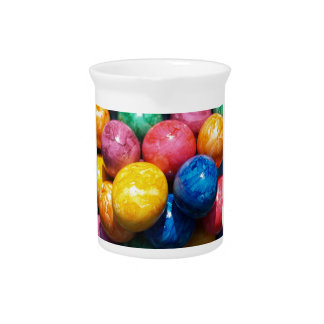 Stone Easter Eggs Pitcher