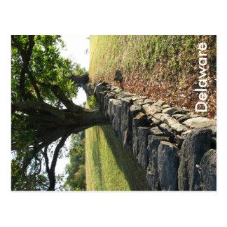 Stone Fence at Brandywine Postcard