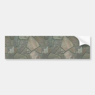 Stone floor bumper sticker