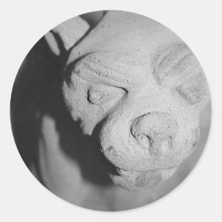 Stone Gargoyle sticker