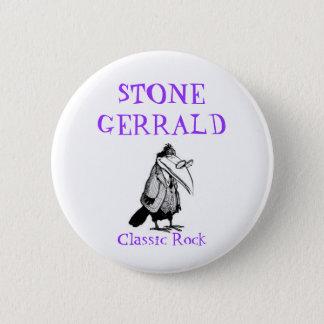 STONE GERRALD, Classic Rock 6 Cm Round Badge