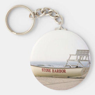 Stone Harbor Boat Keychain