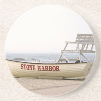 Stone Harbor Lifeguard Boat Coasters