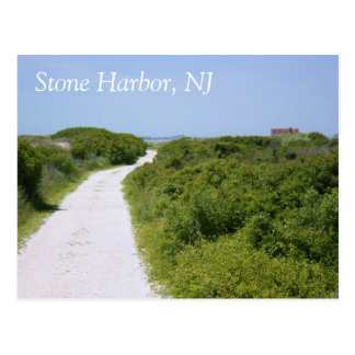 Stone Harbor Point Path Postcard