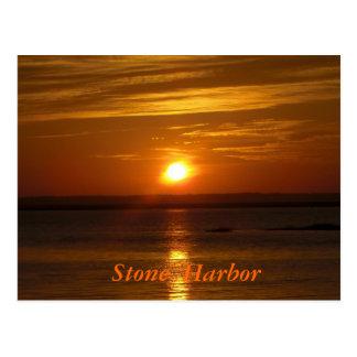 Stone Harbor Sunset Postcard