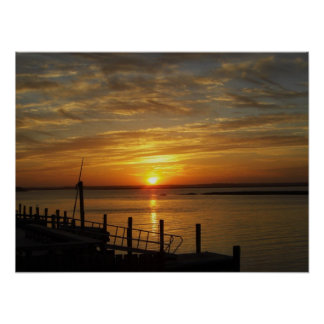 Stone Harbor Sunset Poster