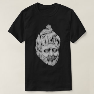Stone Head (Black & White) T-Shirt