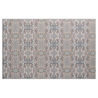 Stone Heart Patterned Fabric