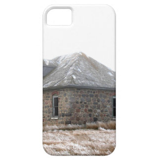 Stone Home abandoned on the prairies iPhone 5 Cases