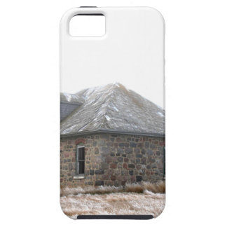 Stone Home abandoned on the prairies iPhone 5 Cover