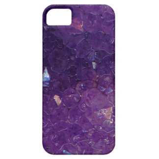 Stone housing amethyst iPhone 5 case