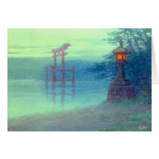 Stone Lantern 1880 Card
