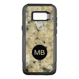 Stone Look Monogram Case