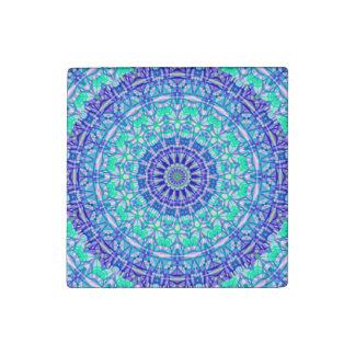 Stone Magnet Tribal Mandala G389