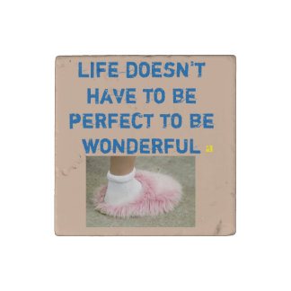 Stone Magnet with Grateful & Encouraging Message
