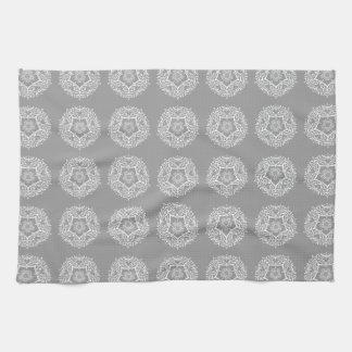 Stone Mandala Tea Towel