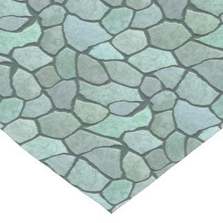 Stone Mosaic Pattern Short Table Runner