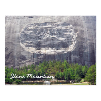 Stone Mountain Carving Stone Mountain Georgia 2 Postcard