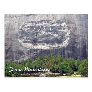 Stone Mountain Carving Stone Mountain Georgia 2 Postcard