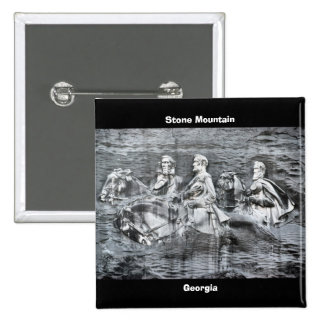 Stone Mountain, Georgia 15 Cm Square Badge