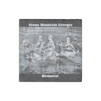 Stone Mountain Georgia Memorial Stone Magnet