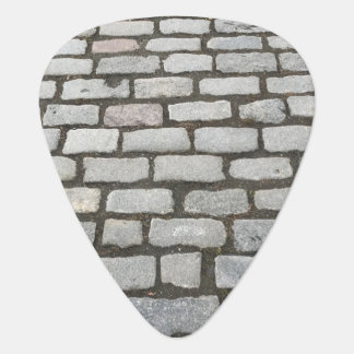 Stone Pathway Cobblestone Photo Print Guitar Pick