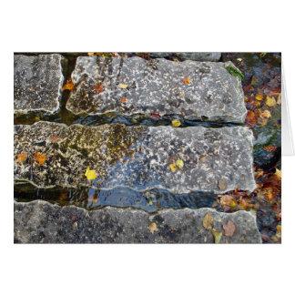 Stone Pathway Greeting Card