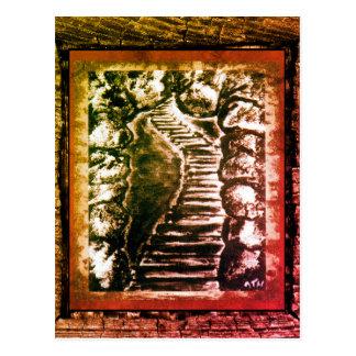 Stone Pathway Postcard