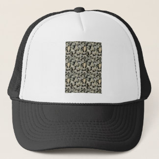 STONE PATTERN FOR GIFT A4 TRUCKER HAT