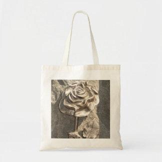 Stone Rose Budget Tote Bag
