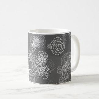Stone roses design coffee mug