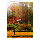 Stone Shed Fall Colours Card