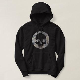 Stone skull hoodie