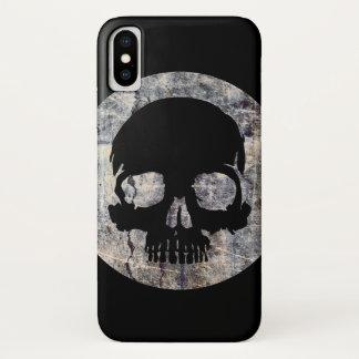 Stone skull iPhone x case