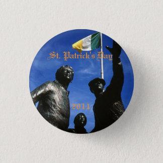 stone, St. Patrick's Day, 2011 Syracuse Irish 3 Cm Round Badge