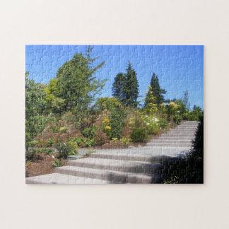 Stone Stairs through Tree Garden Puzzle