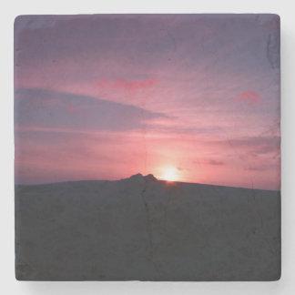 Stone sunset Coaster