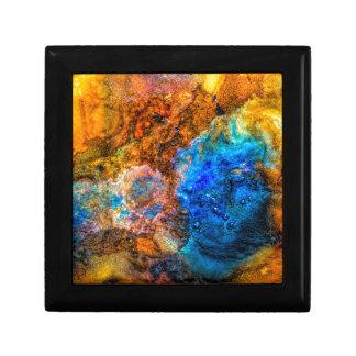 Stone texture paint gift box