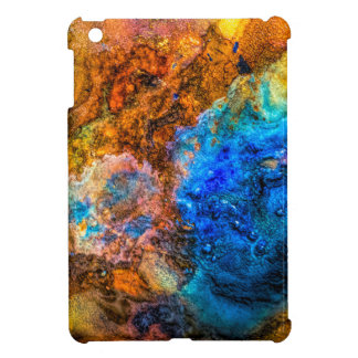 Stone texture paint iPad mini covers