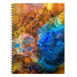 Stone texture paint notebook
