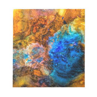 Stone texture paint notepad