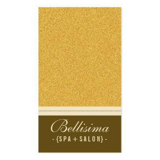 Stone Textured Gold Business Card