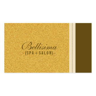 Stone Textured Gold Business Card (horz)