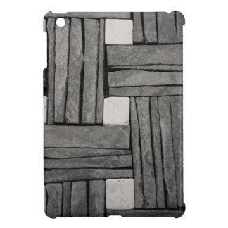 Stone Wall Basket Weave iPad Mini Covers