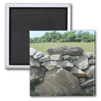 Stone Wall Block Island Fridge Magnet